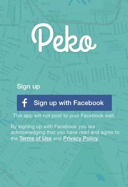 Facebook, Peko