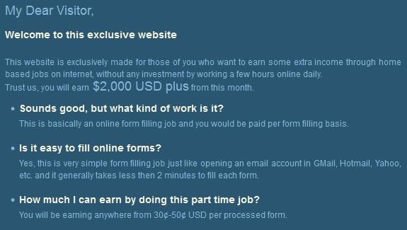 earnparttimejobs FAQ
