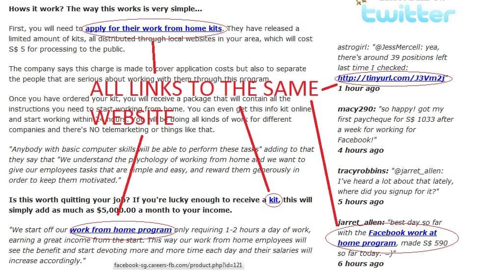 Advertisement website 2