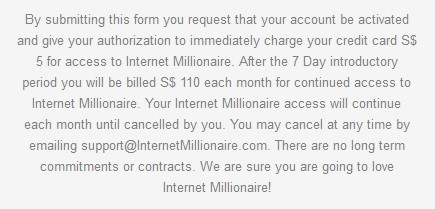 Cost of FB Millionaire