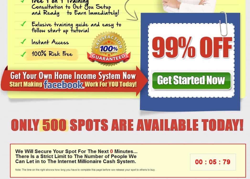 FB Millionaire Main Website