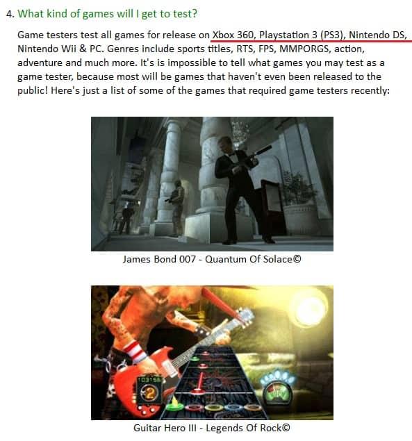 Gaming Jobs Online FAQ