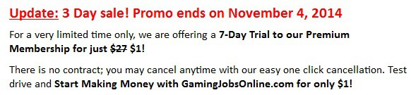 Gaming jobs online sale