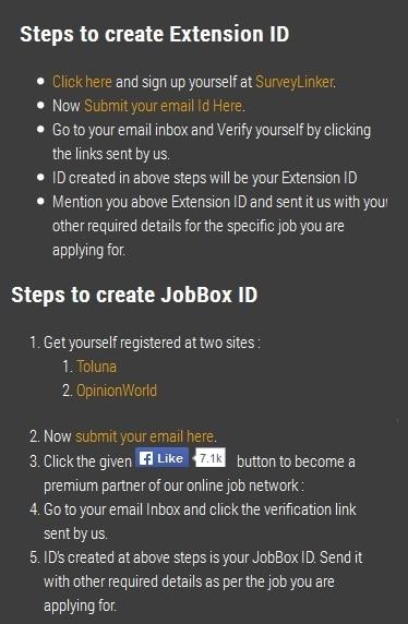 Create ID