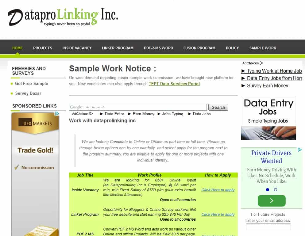 Datapro Linking Inc