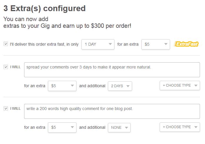 Gig Extras 2