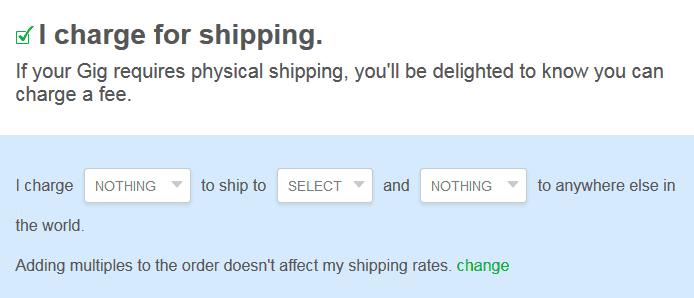 Gig Shipping