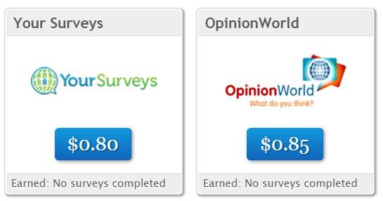 Clixsense daily survey