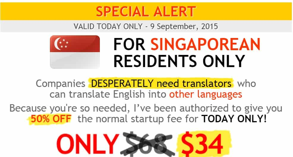 Real Translator payment