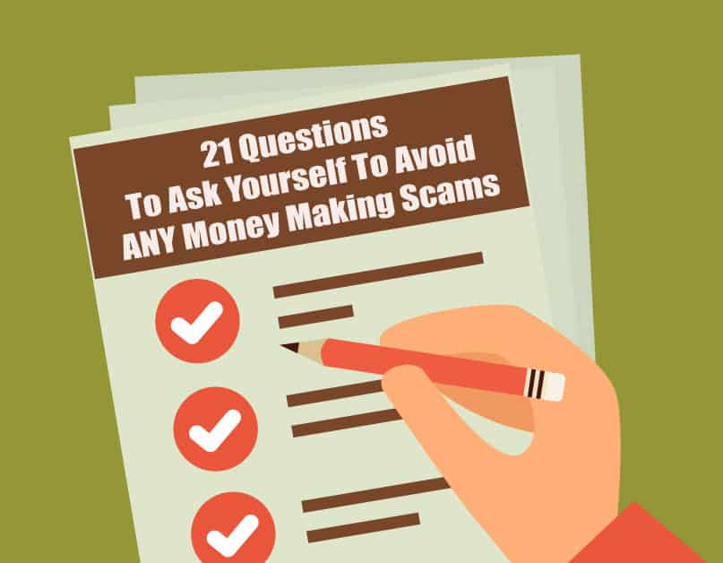 Checklist: 21 Questions To Ask Yourself To Avoid ANY Money