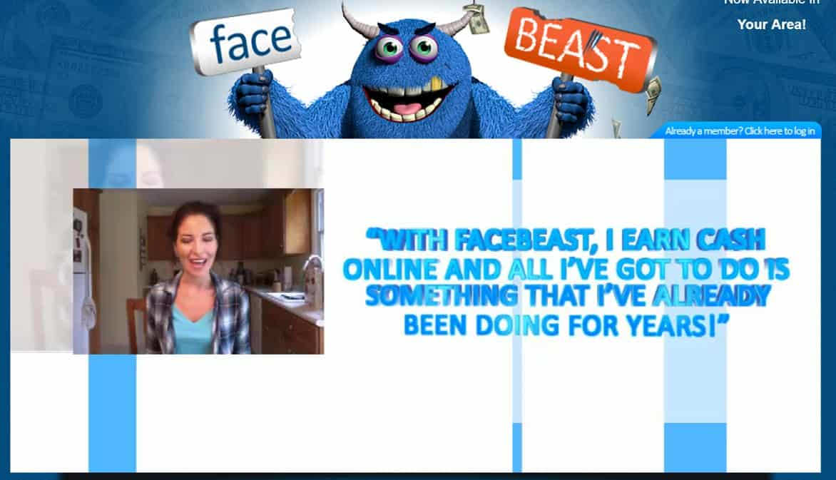 Facebeast Introduction video
