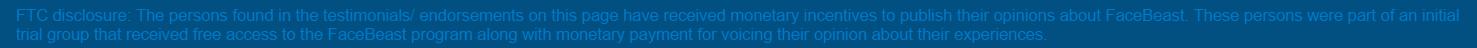 Facebeast video disclaimer
