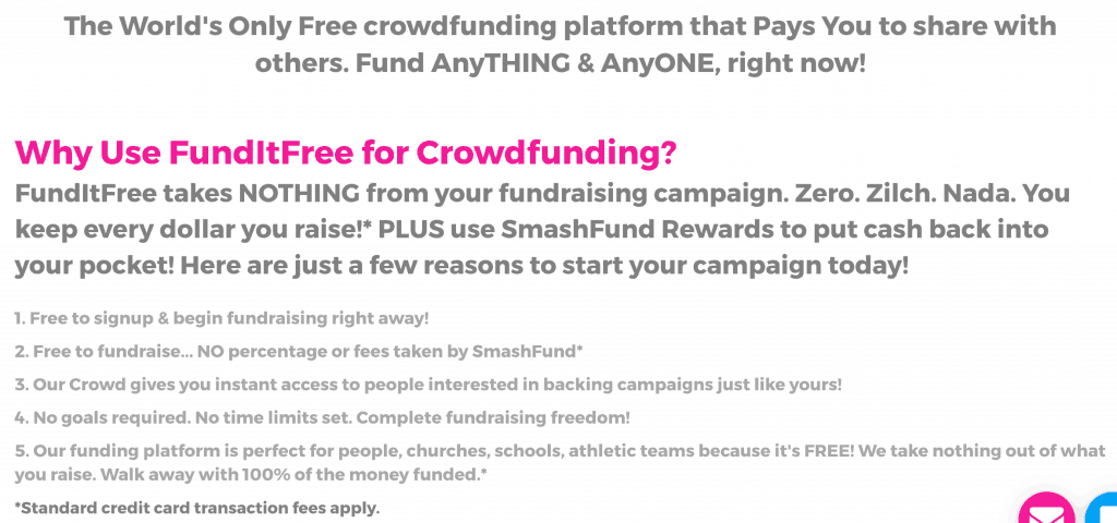 Smashfund FundItFree