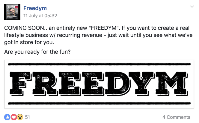 Freedym recurring direction