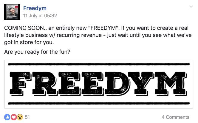 Freedym recurring direction