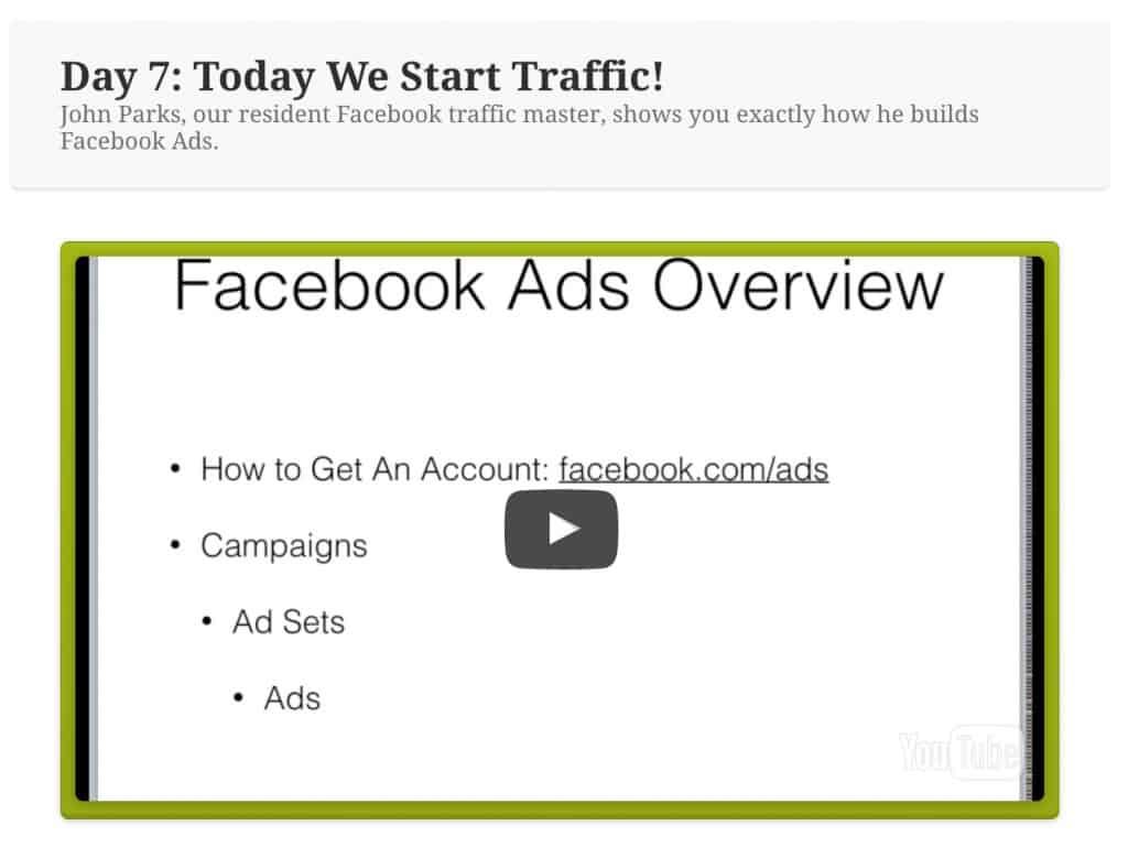 Affiliate Bootcamp Facebook Ads