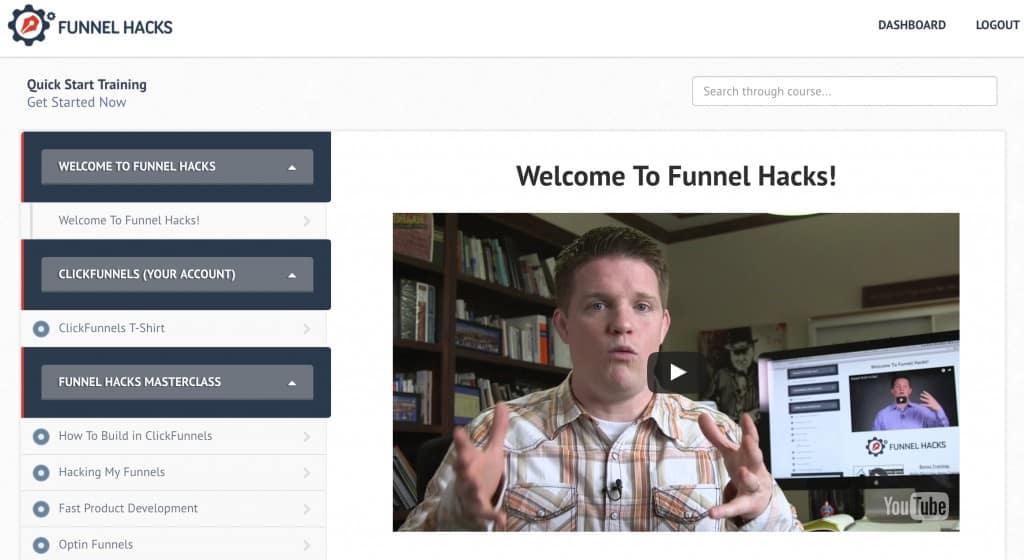 Funnel Hacks Dashboard