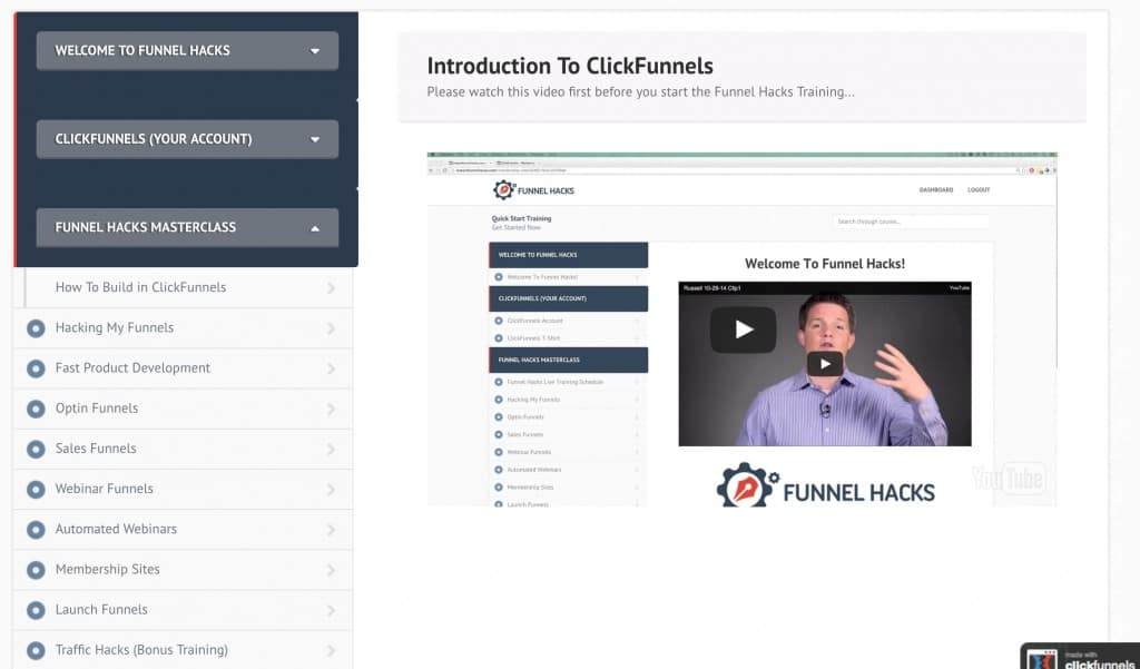 Funnel Hacks Main Lessons