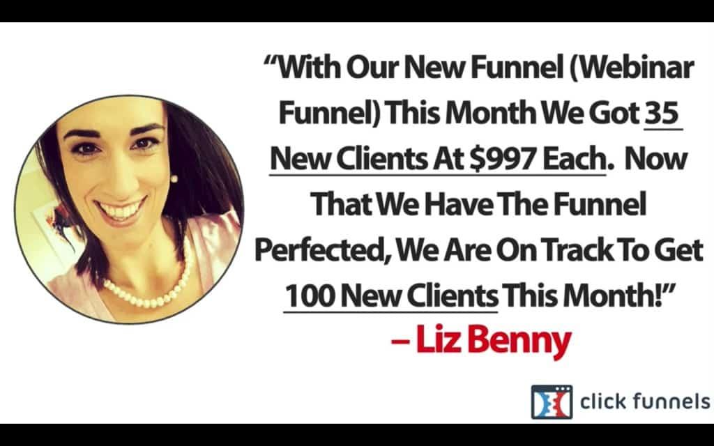 Funnelhacks Liz Benny