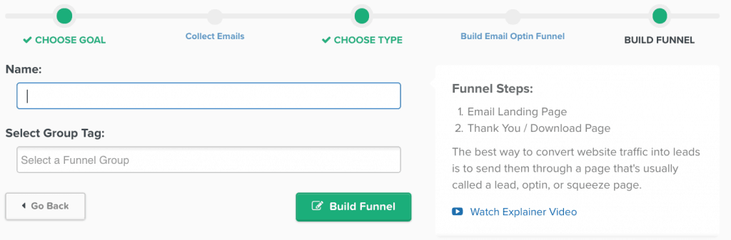 Clickfunnels Opt In Funnel
