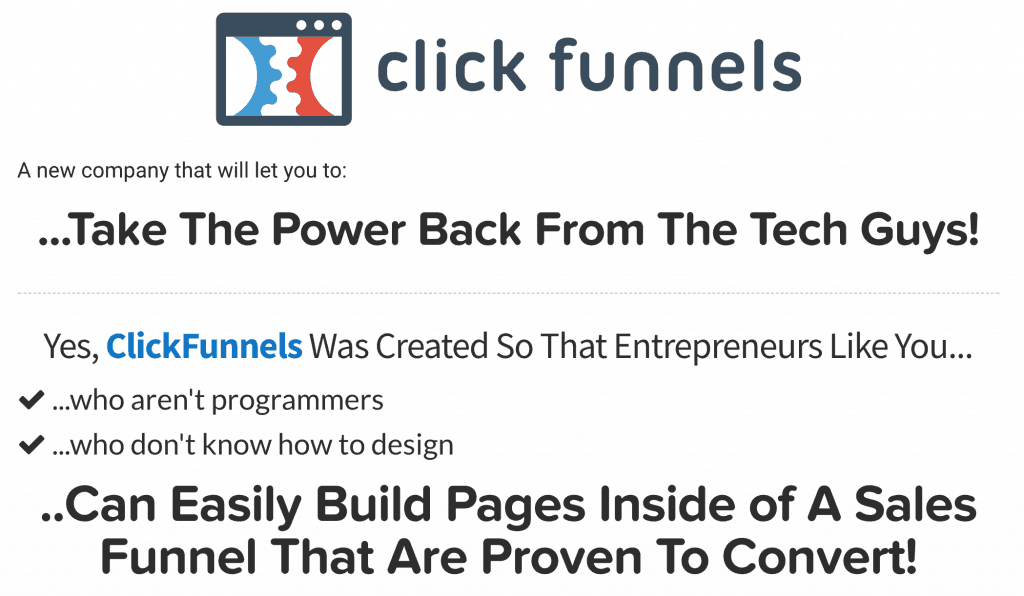 Clickfunnels Power Back