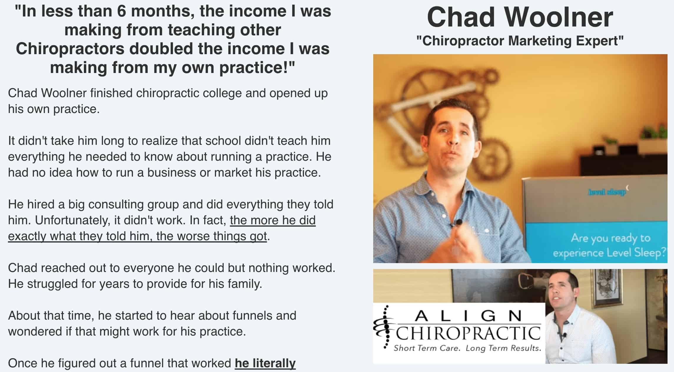 Expert Secrets Chad Woolner