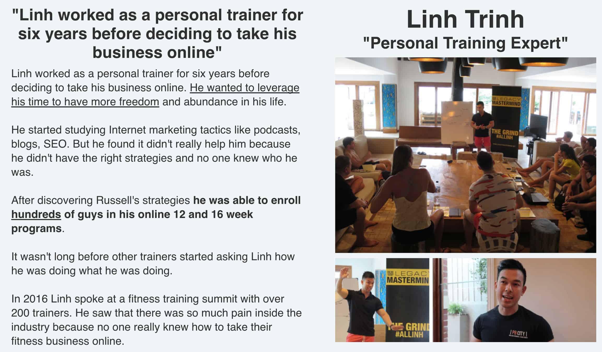 Expert Secrets Linh Trinh