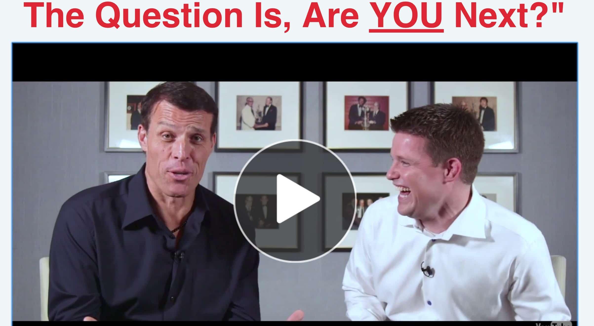Expert Secrets Tony Robbins