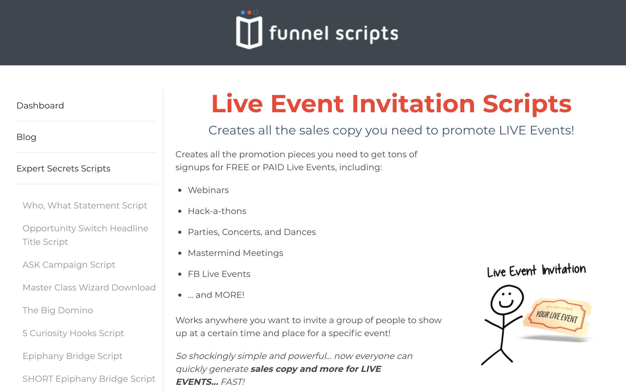 Funnel Builder Secrets Funnel Scripts