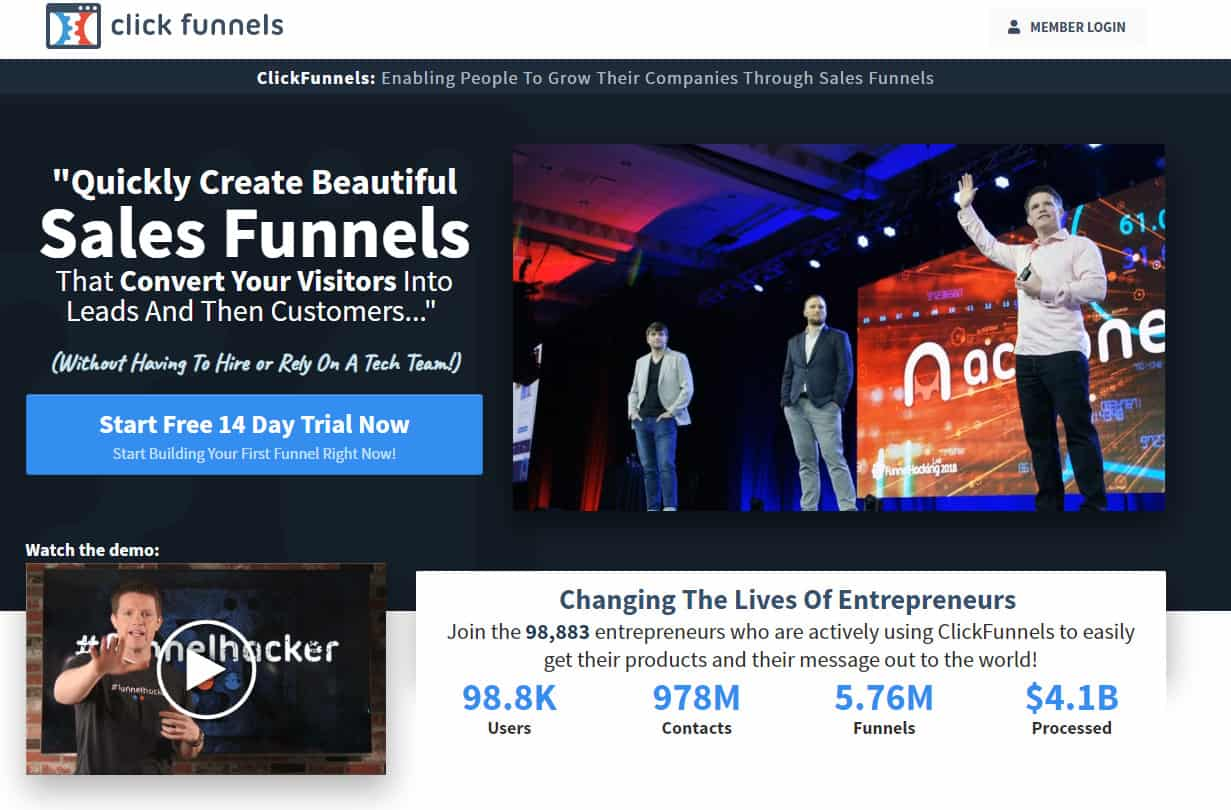 Clickfunnels New