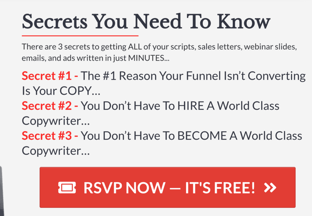 Funnel Scripts Secrets