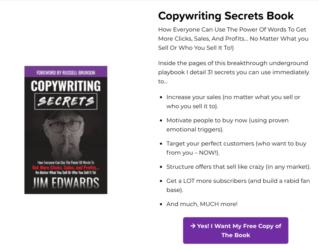 Funnel Scripts Copywriting Secrets